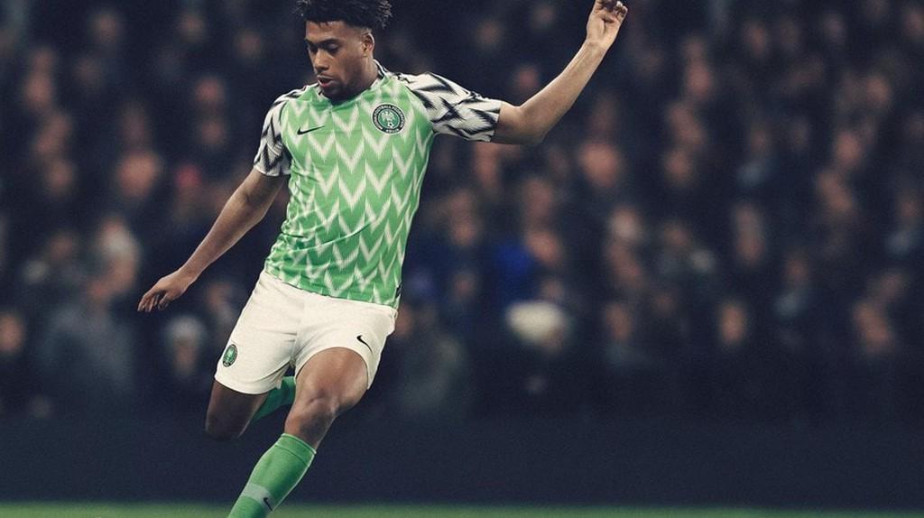 Nigeria 2018 home kit   © Nike