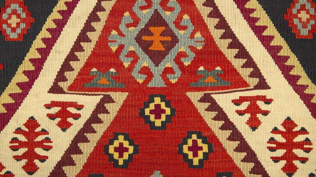 Serbian traditional carpet