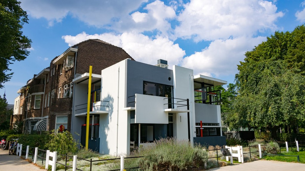 Rietveld Schröder House in Utrecht, the Netherlands