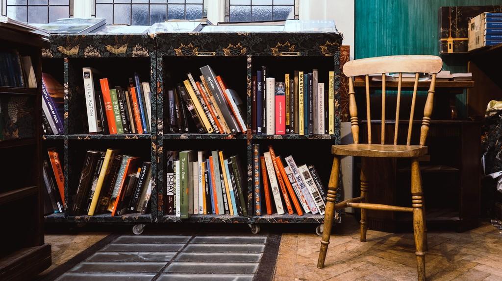 A quaint bookstore