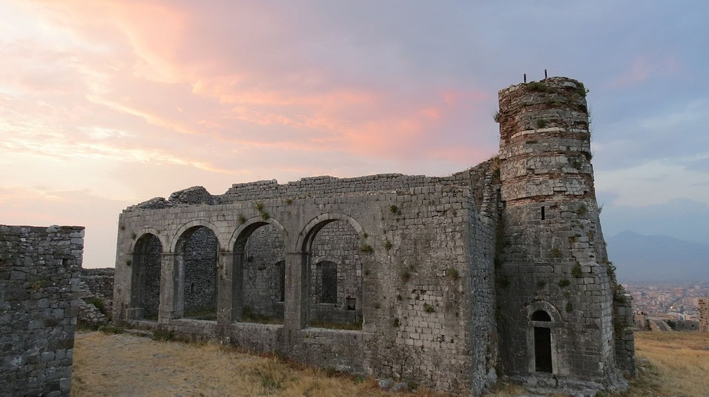 The castle of Rozafa is one of the largest in Albania and the Balkans