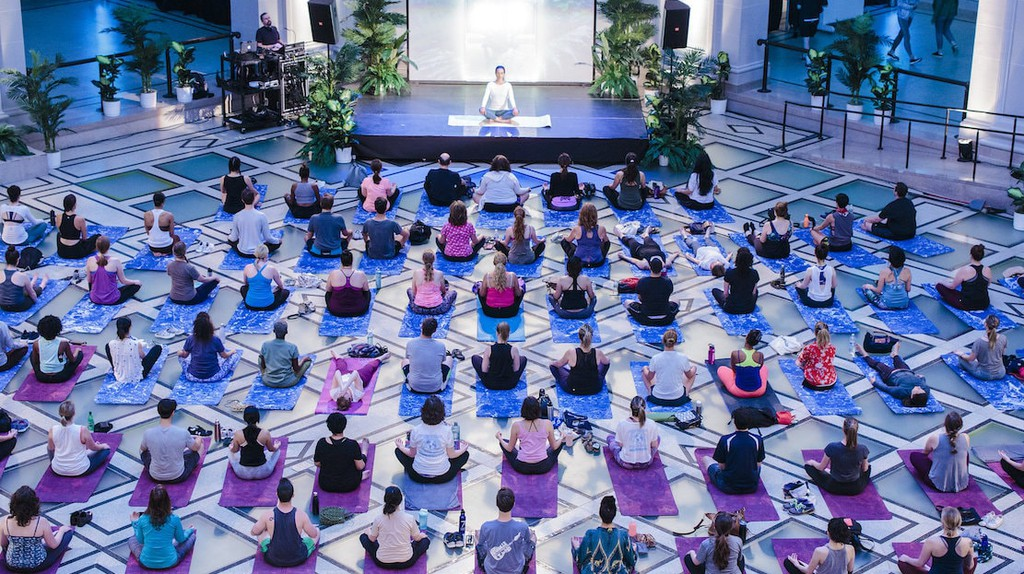 Yoga and Art Are the Perfect Saturday Pairing at the Brooklyn Museum