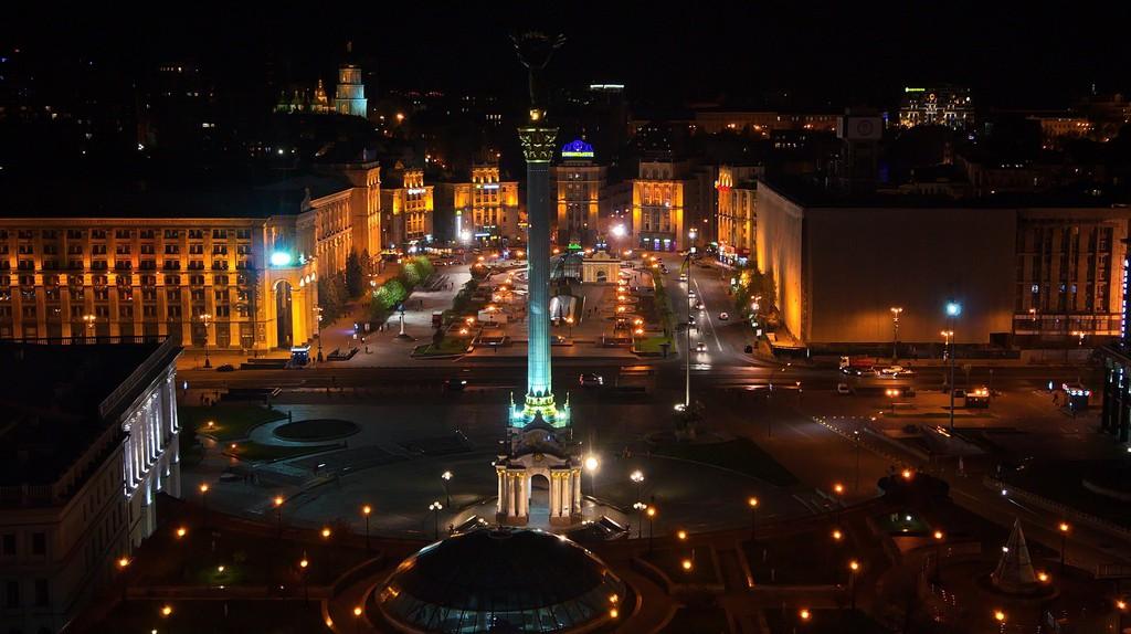 Kiev city centre