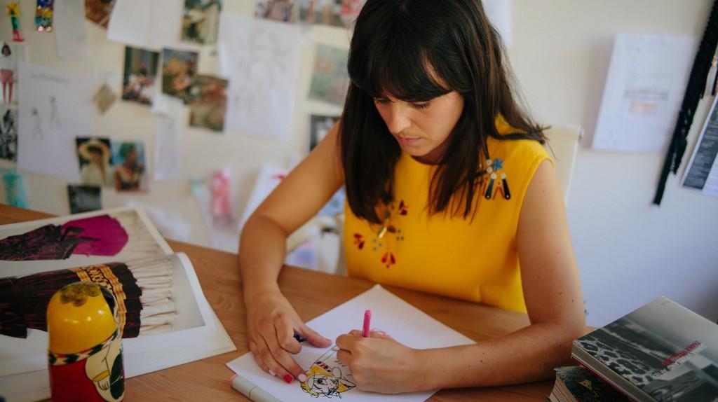 Barcelona-based fashion designer Berta Cabestany, 2018