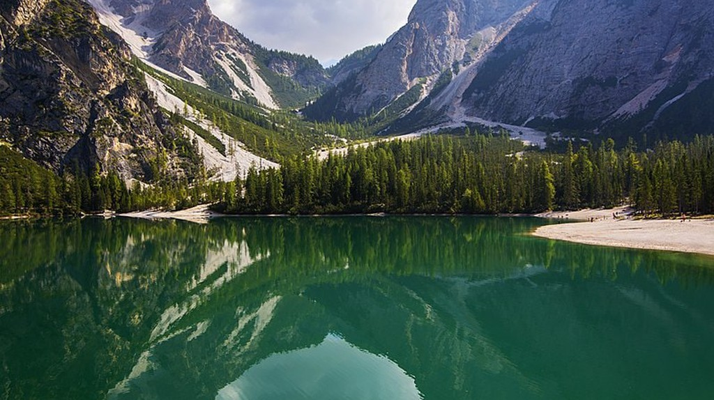 Lake Braies, South Tyrol, Italy