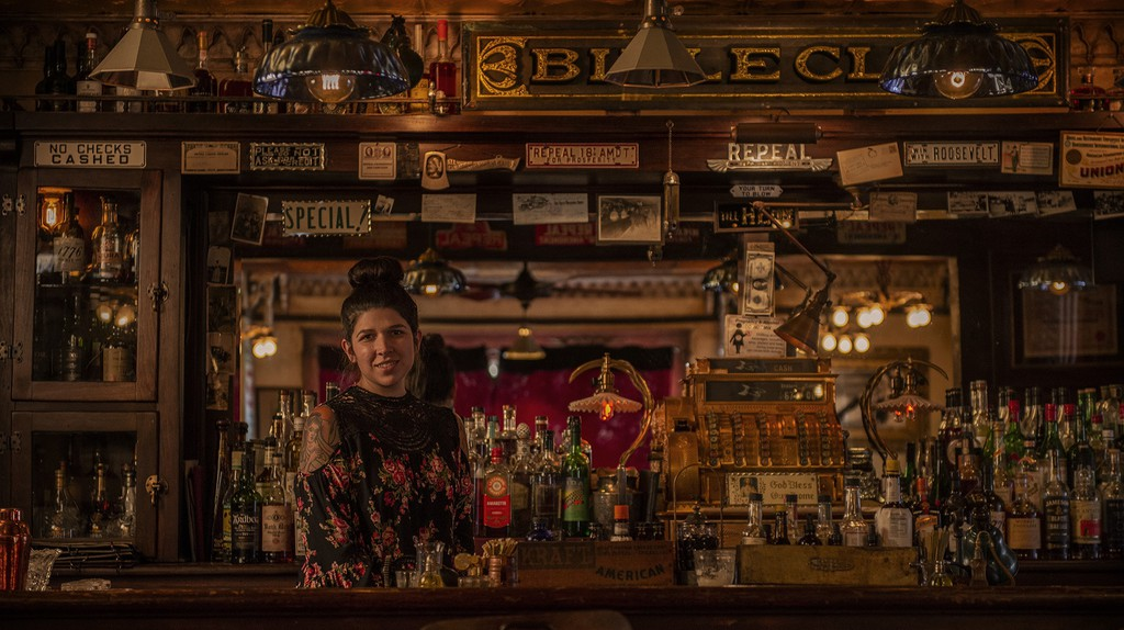 Bible Club is an authentic Prohibition-era bar