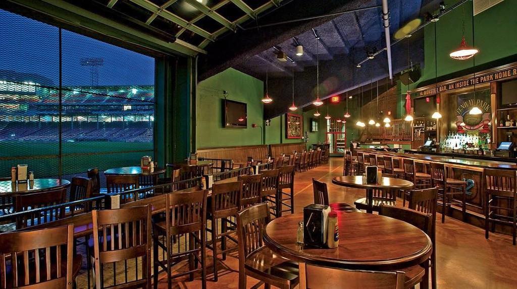 Inside the Bleacher Bar