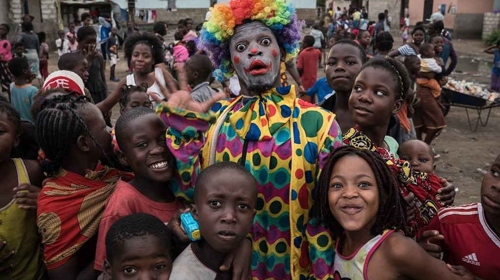 Circus Zambia run workshops in lower income areas to inspire children