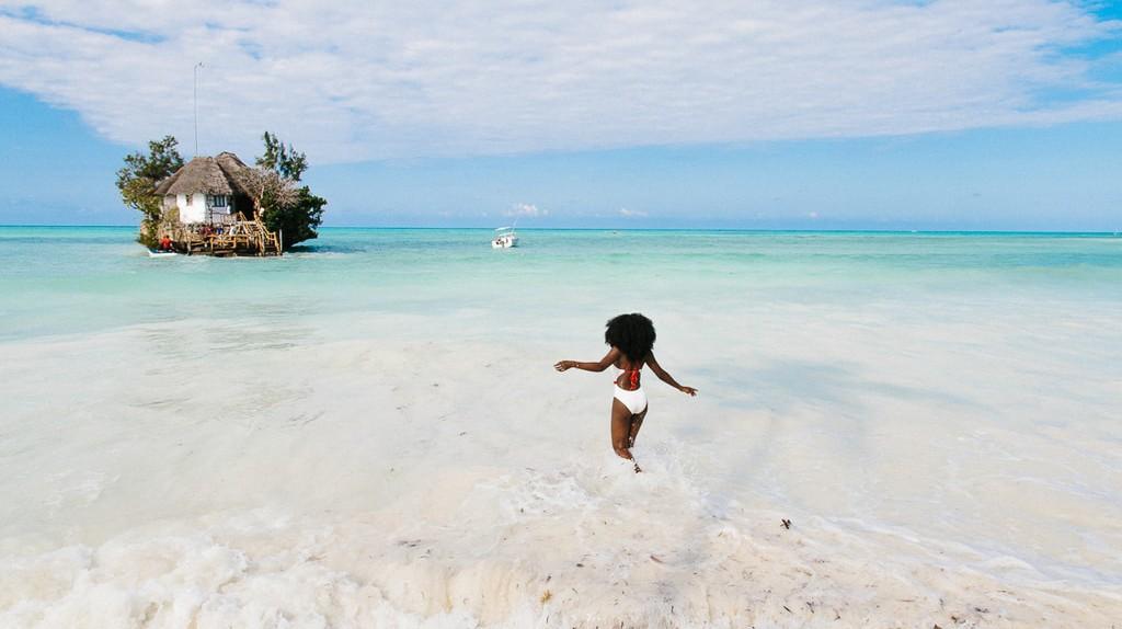Spirited Pursuit blogger Lee Litumbe in Tanzania