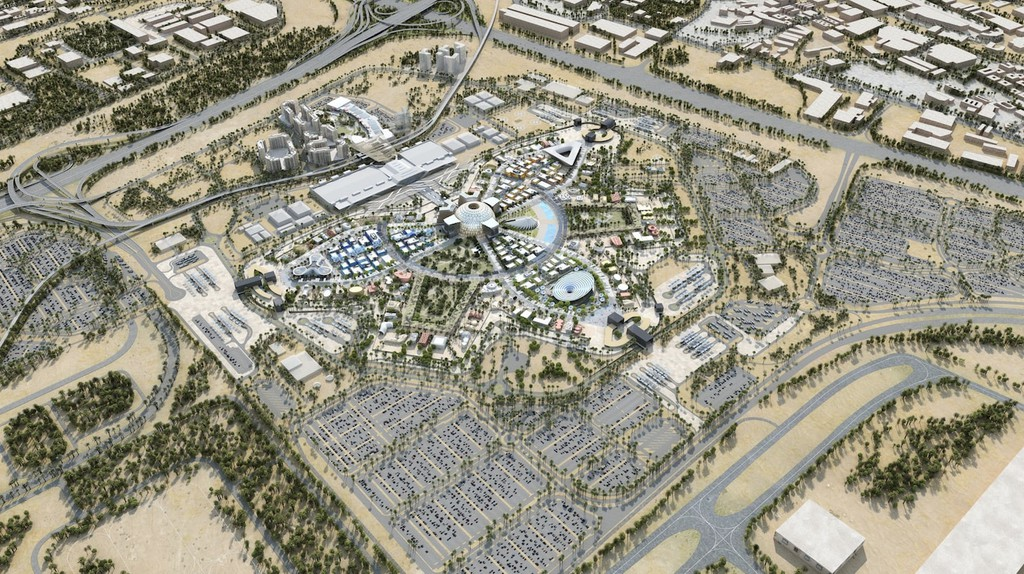 The Expo 2020 begins on October 20, 2020