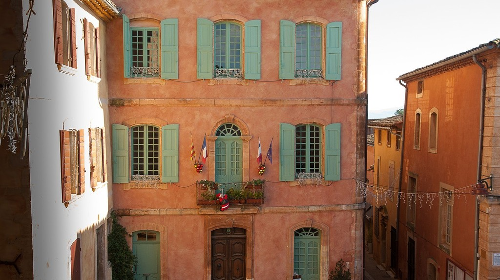 The Town Hall in Roussillon
