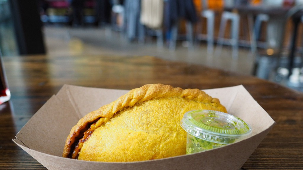 The 'salteña' is a Bolivian meat-filled pastry
