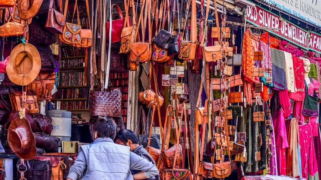 Chennai has a vibrant shopping culture