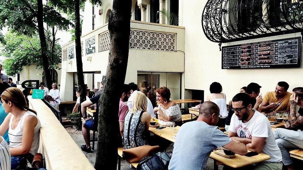 Mikkeller Bucharest terrace