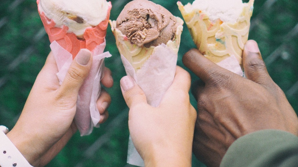 Despite the lack of sunshine most months, Portland is home to some tasty ice cream shops.