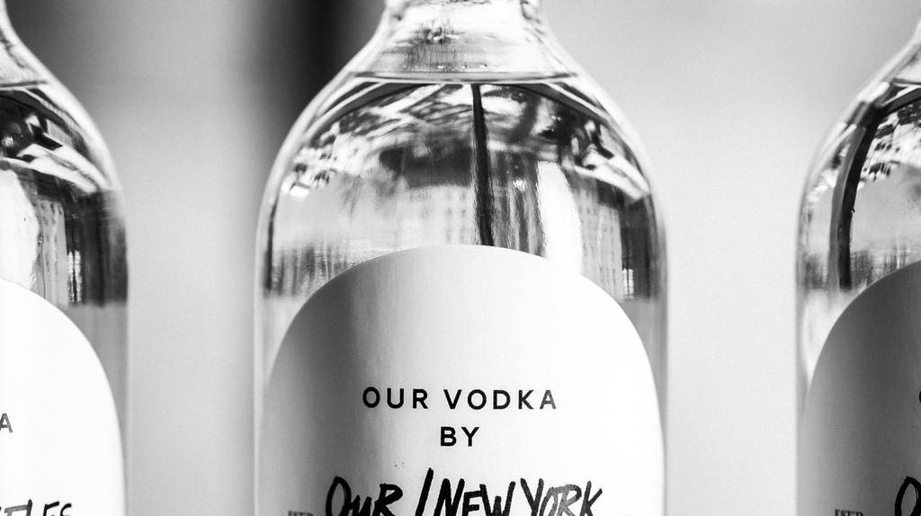 Our/New York is the first vodka distilled in Manhattan since Prohibition.