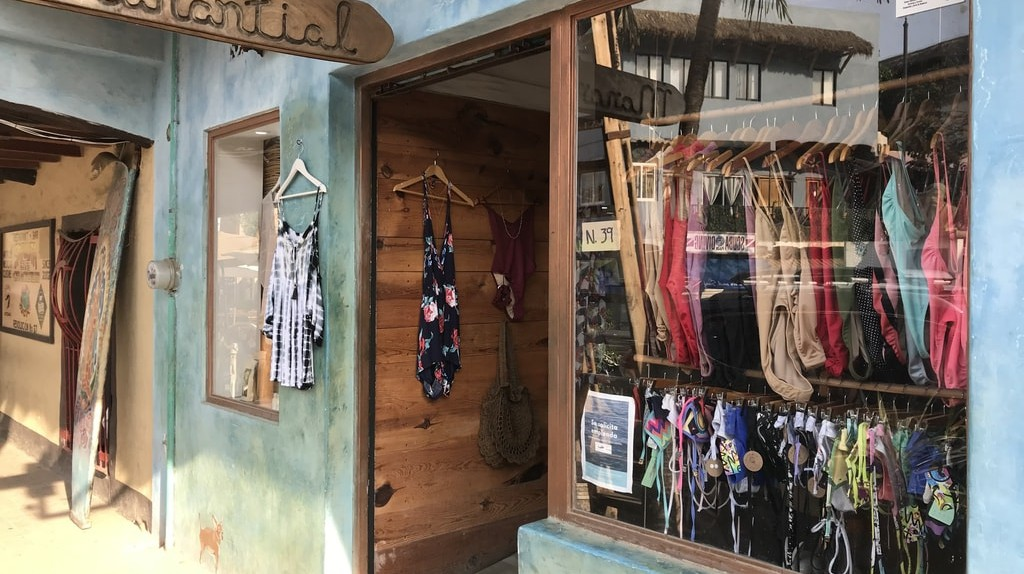 There are plenty of shopping opportunities in Sayulita