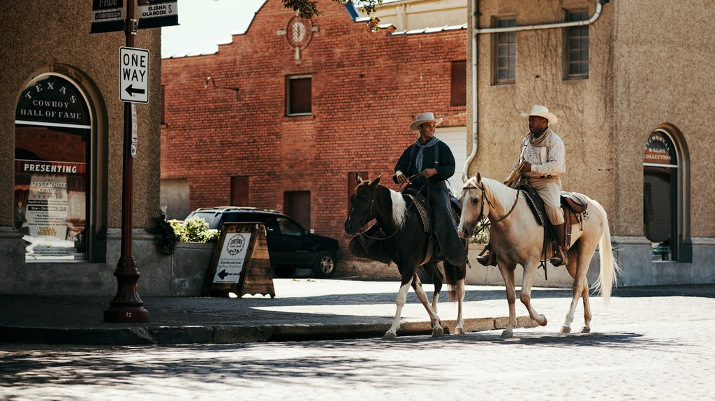 Cowboys in Forth Worth Stockyards