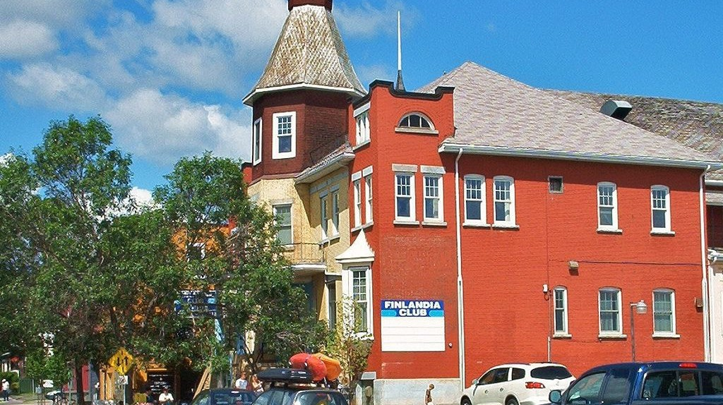The Finnish Labour Temple in Thunder Bay, Ontario.