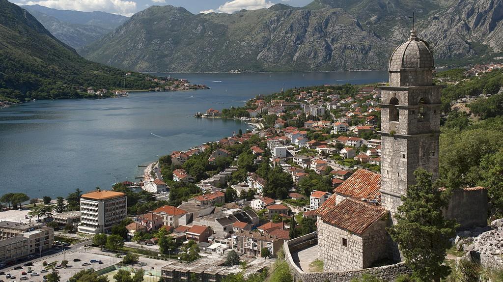 The beautiful Bay of Kotor