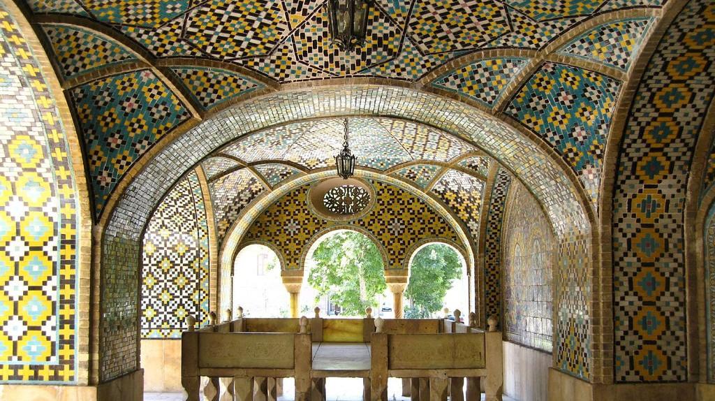 The stunning interiors of Golestan Palace, Iran