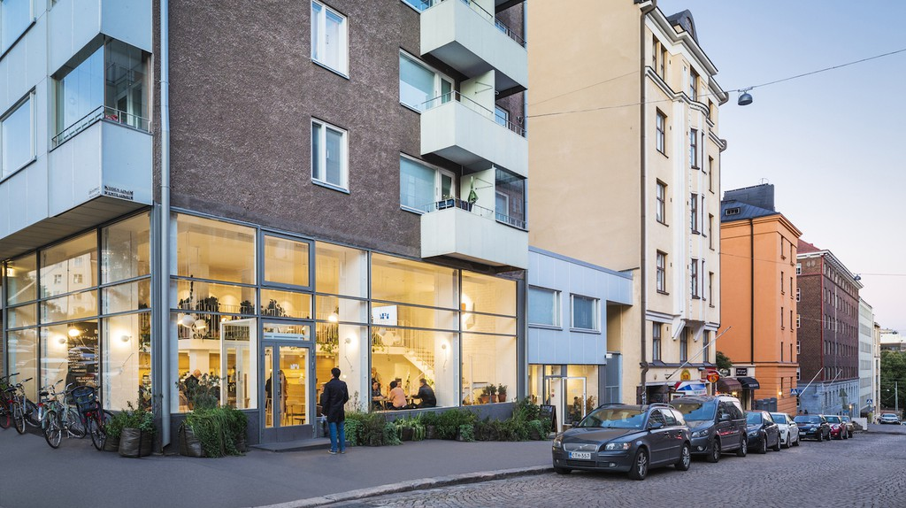 Kallio is a trendy foodie district in Helsinki, Finland.