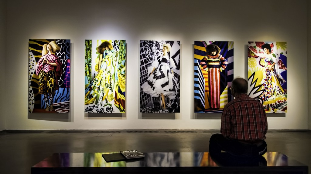 Portrait exhibit by Aino-Maija Metsola in Kiasma Contemporary Art Museum