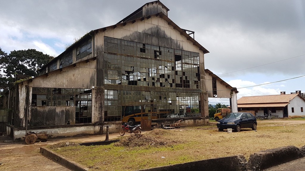 Abandoned factory in Fordlandia, Brazil