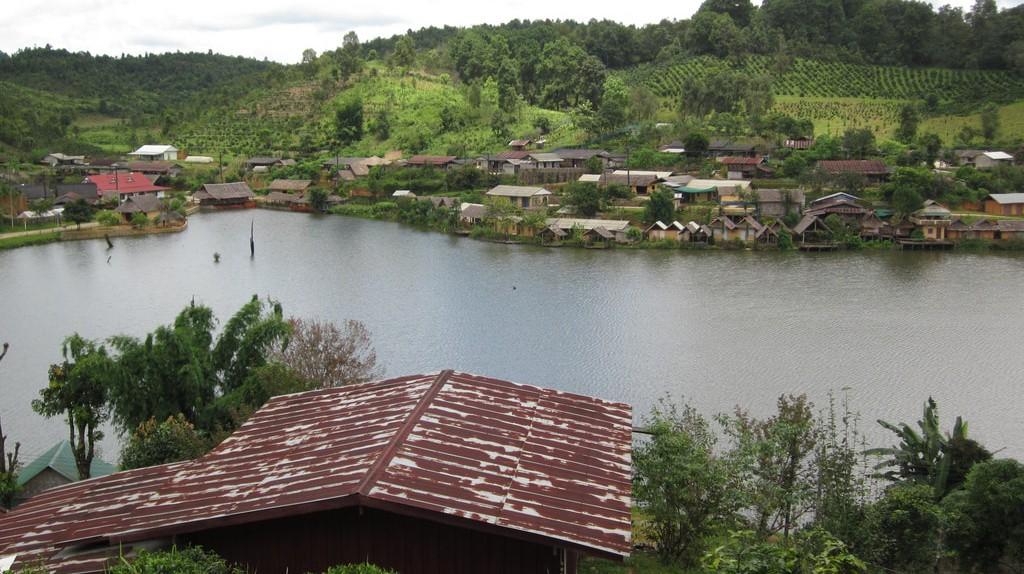 A charming village in Mae Hong Son