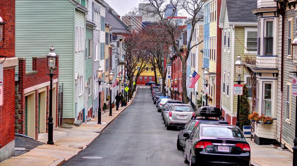 A street in Charlestown