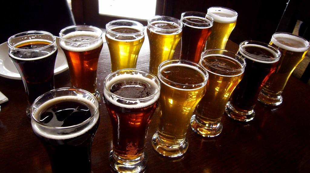 Beer sampling time
