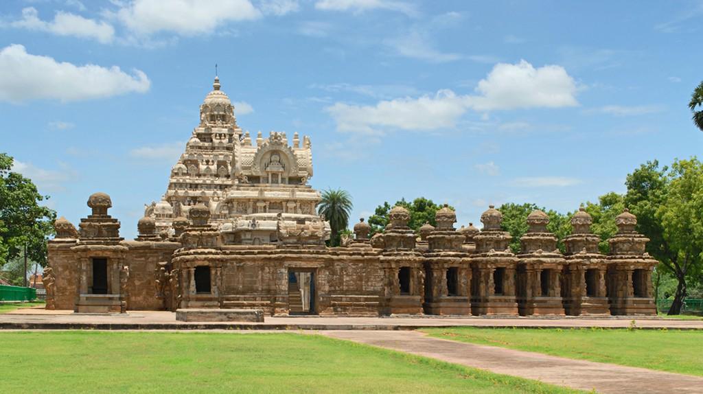 Kailashnath temple, Kanchipuram, Tamil Nadu, India