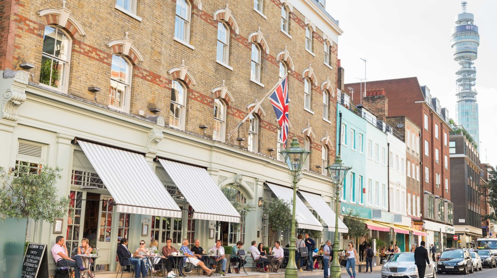 Charlotte Street Hotel, Fitzrovia, London, England, UK