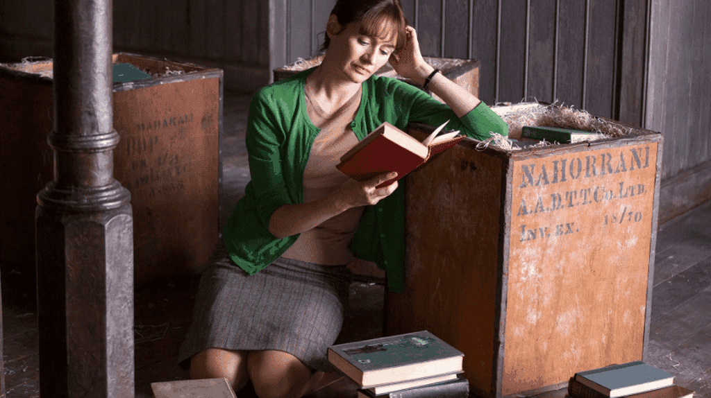 Emily Mortimer in 'The Bookshop'