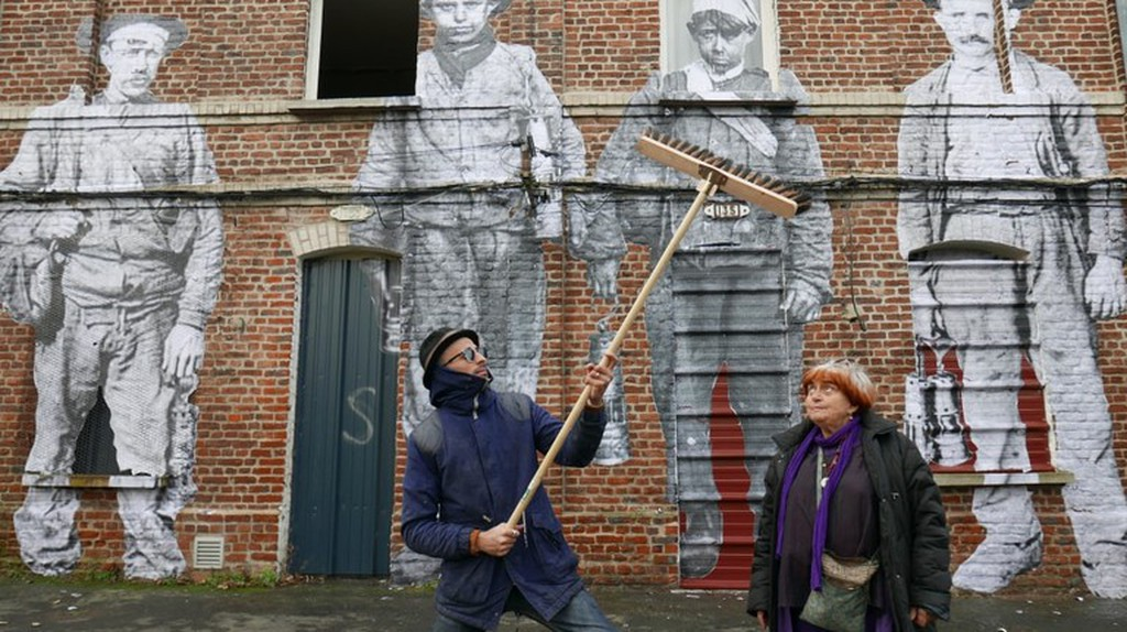 JR, Agnès Varda, and coal miners of the past in Faces Places