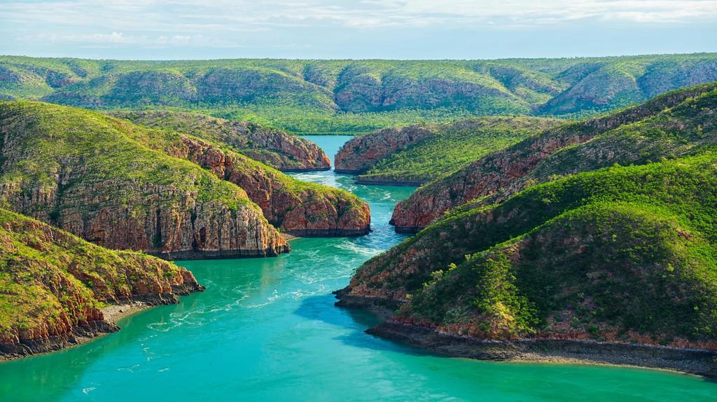 Horizontal Falls in the Kimberley Region