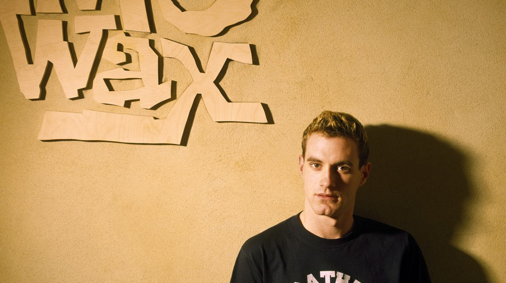 James Lavelle (pictured in 1995) was 18 when he set up Mo' Wax