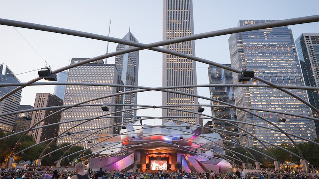 Every Labor Day weekend, Millennium Park lights up for the Chicago Jazz Festival
