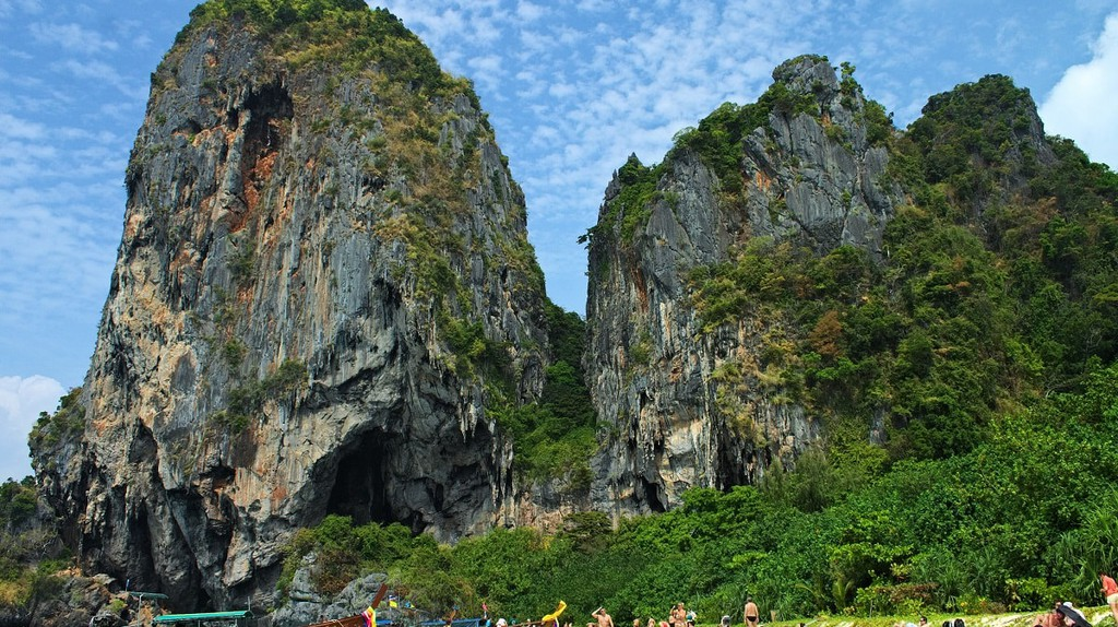 Krabi is known for its picturesque karst landscape