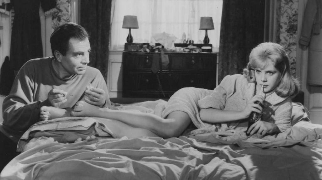 """James Mason and Sue Lyon in """"Lolita"""" (1962)"""
