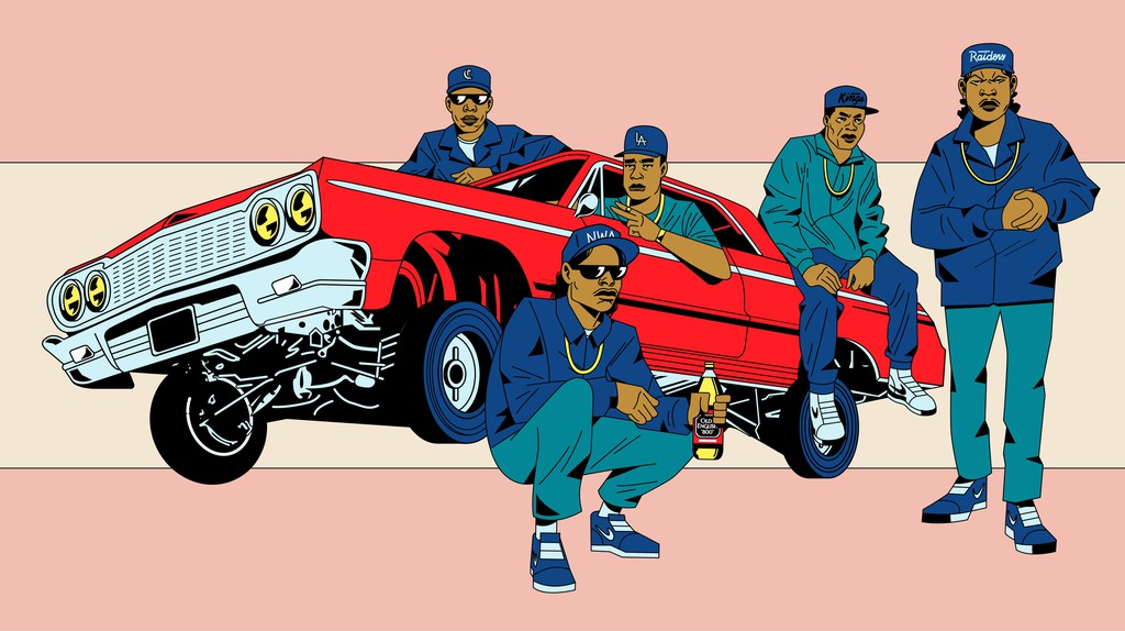 'Straight Outta Compton' at 30: An Illustrated History of NWA