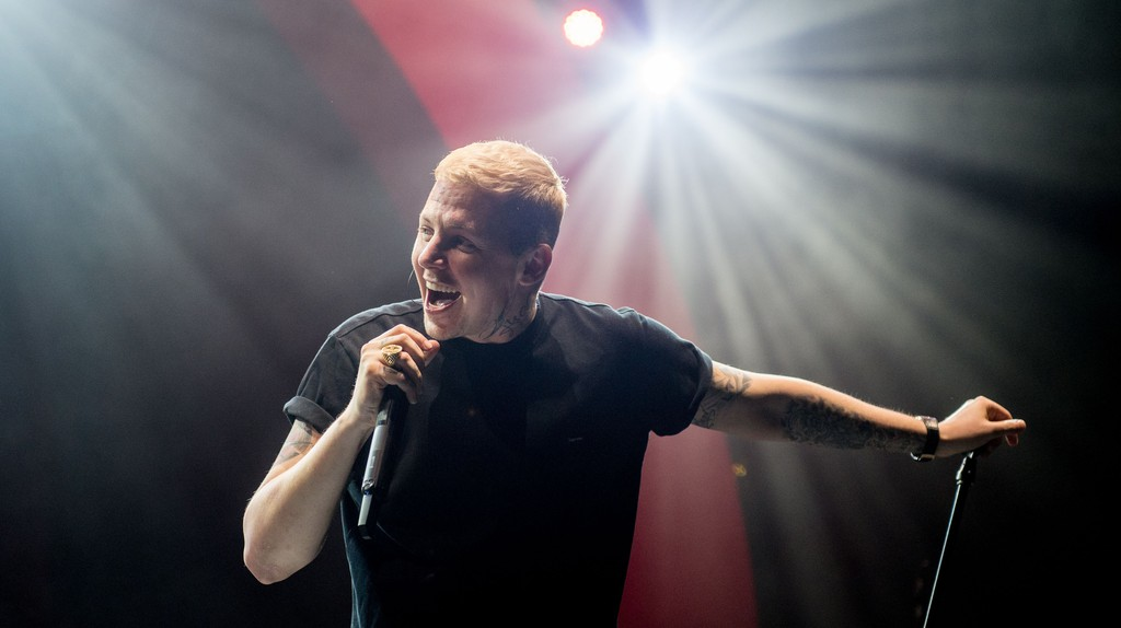 Professor Green has been open about his mental health issues