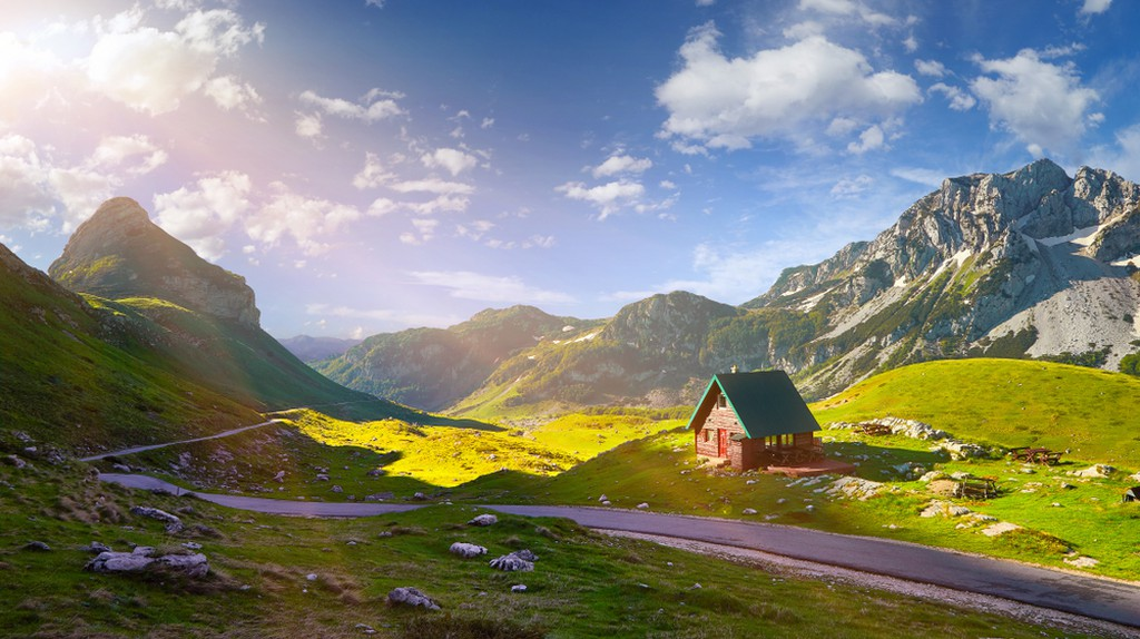 Durmitor mountains, National Park, Mediterranean, Montenegro.