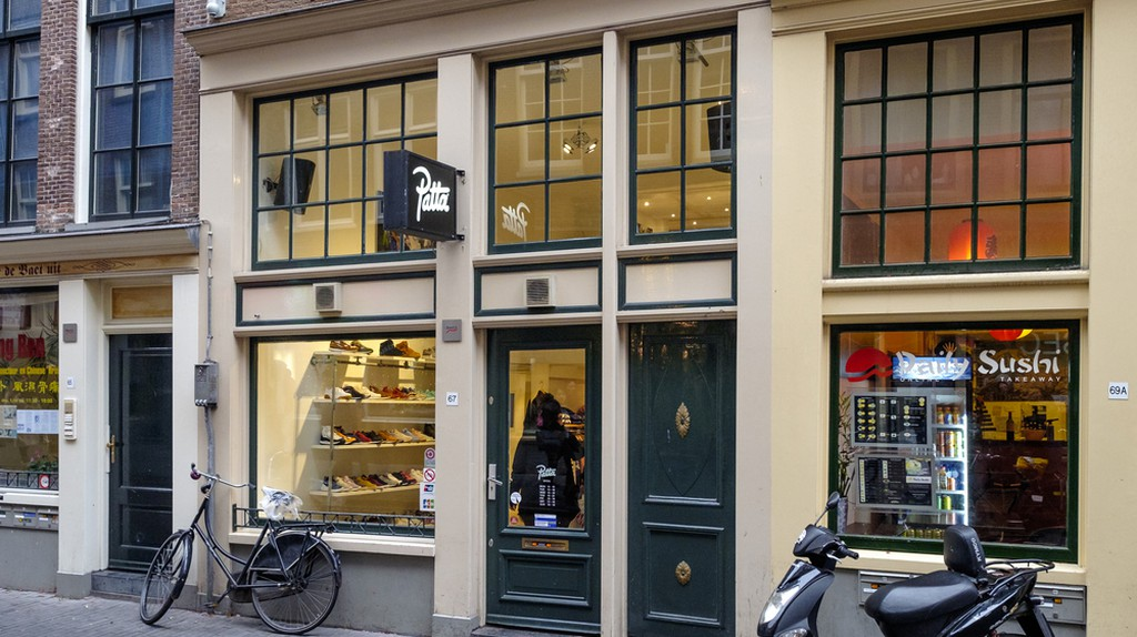 Amsterdam branch of the Patta streetwear store
