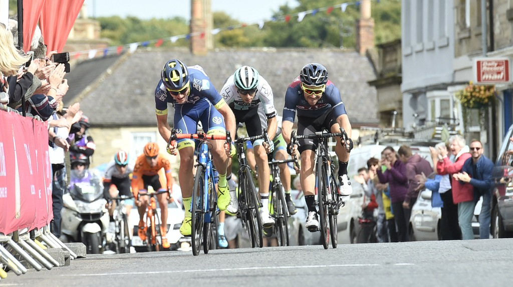 Stage 1 Edinburgh-Kelso at the 2017 OVO Energy Tour of Britain