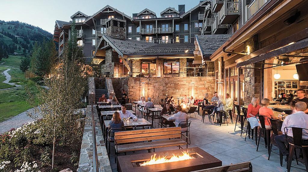 Grand Teton National Park provides an awe-inspiring backdrop at The Handle Bar