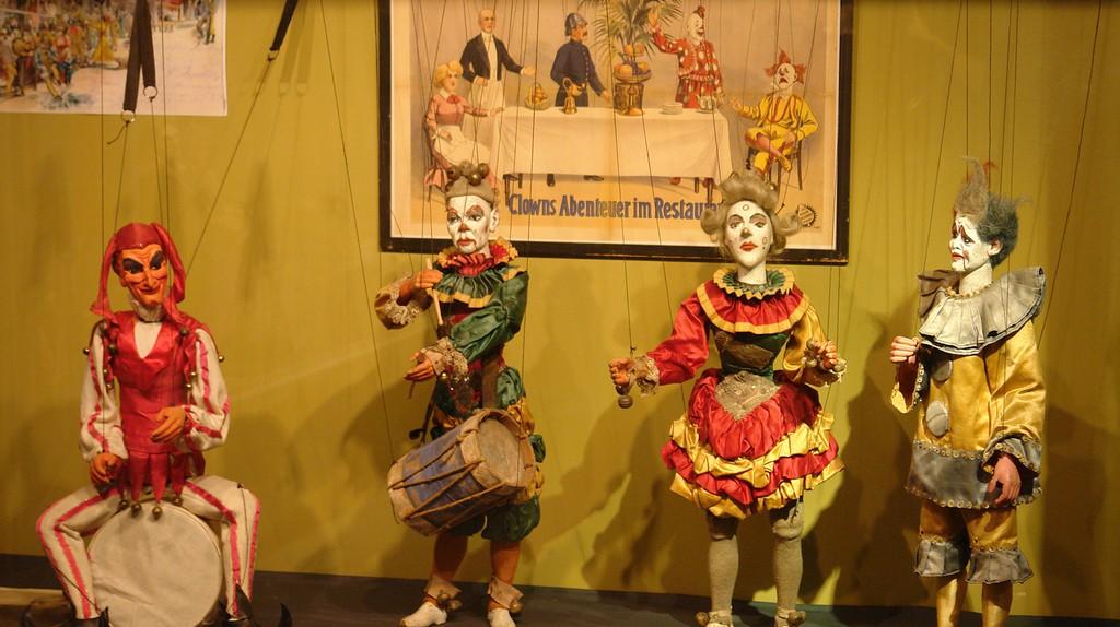 Exhibits at Theater Figuren Museum
