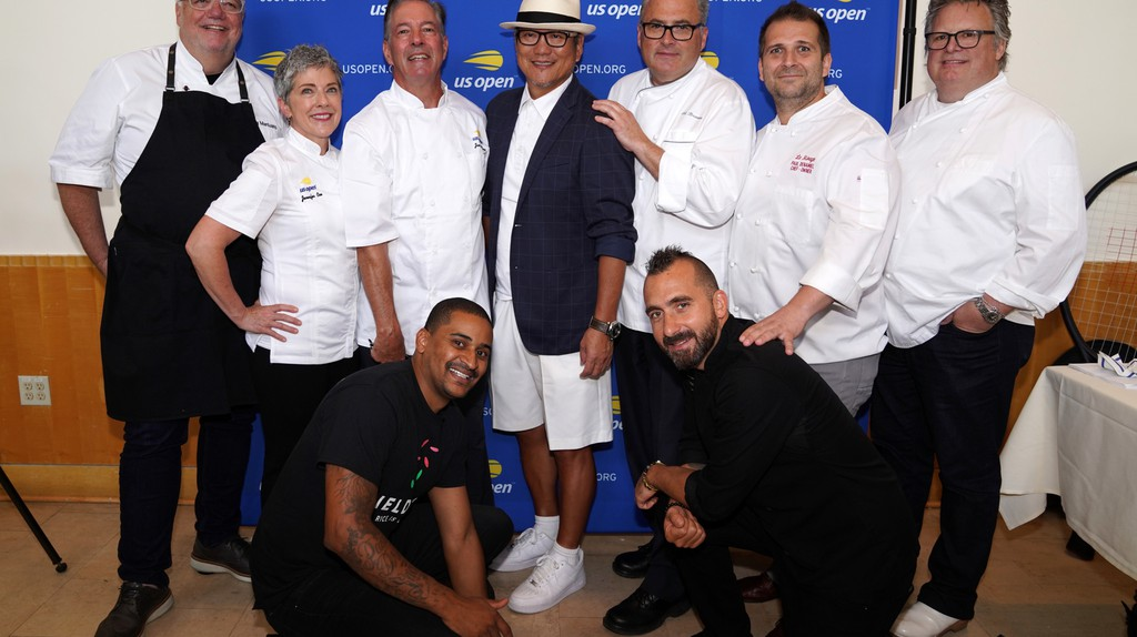 The chefs of the 2018 US Open