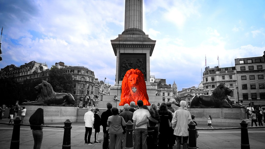 Render of 'Feed the Lion'