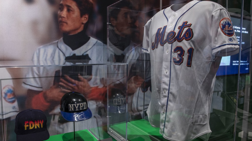 The New York Mets played the first baseball game in NYC just 10 days after 9/11.